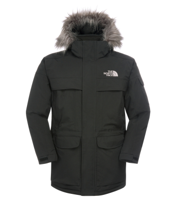 The north face mcmurdo parka homme charcoal grey