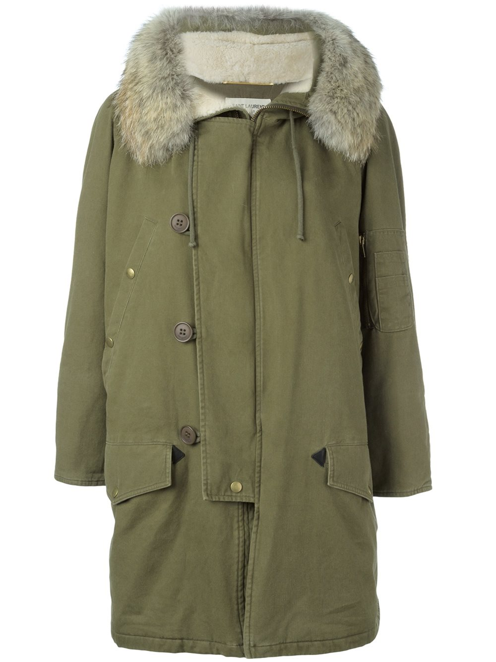 Parka homme yves saint laurent
