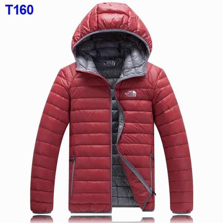 Parka north face homme rouge