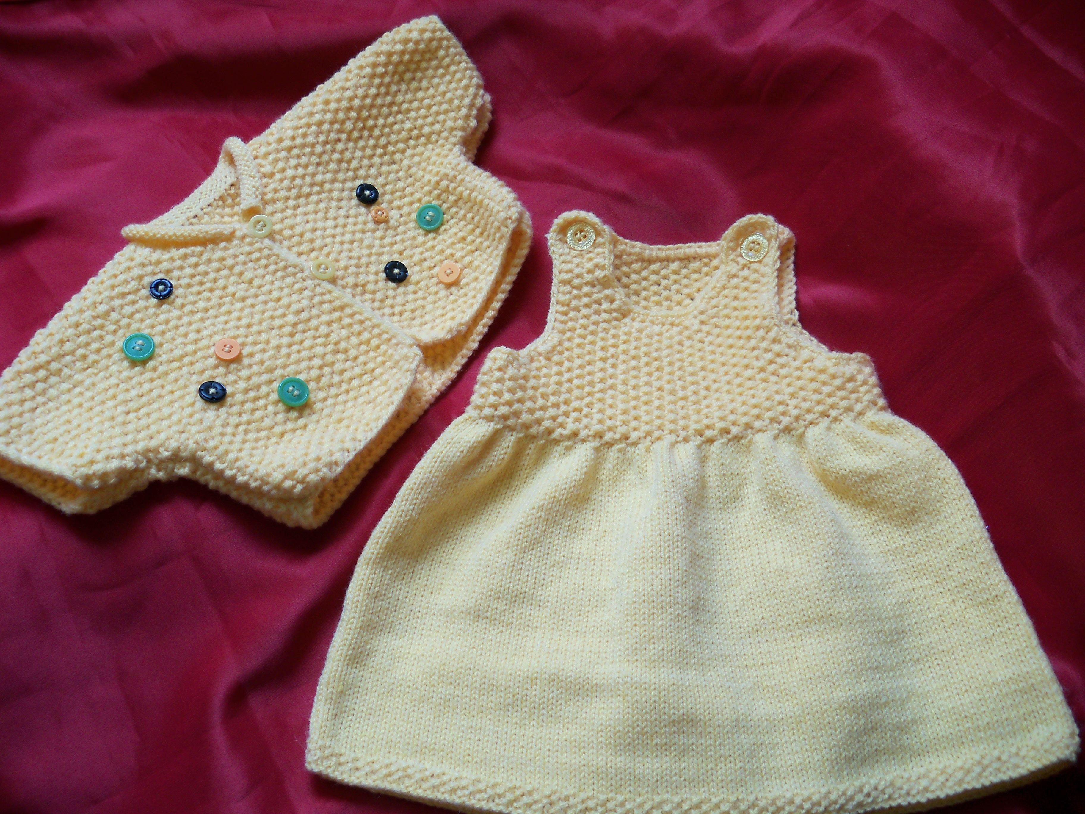 Tricotage layette