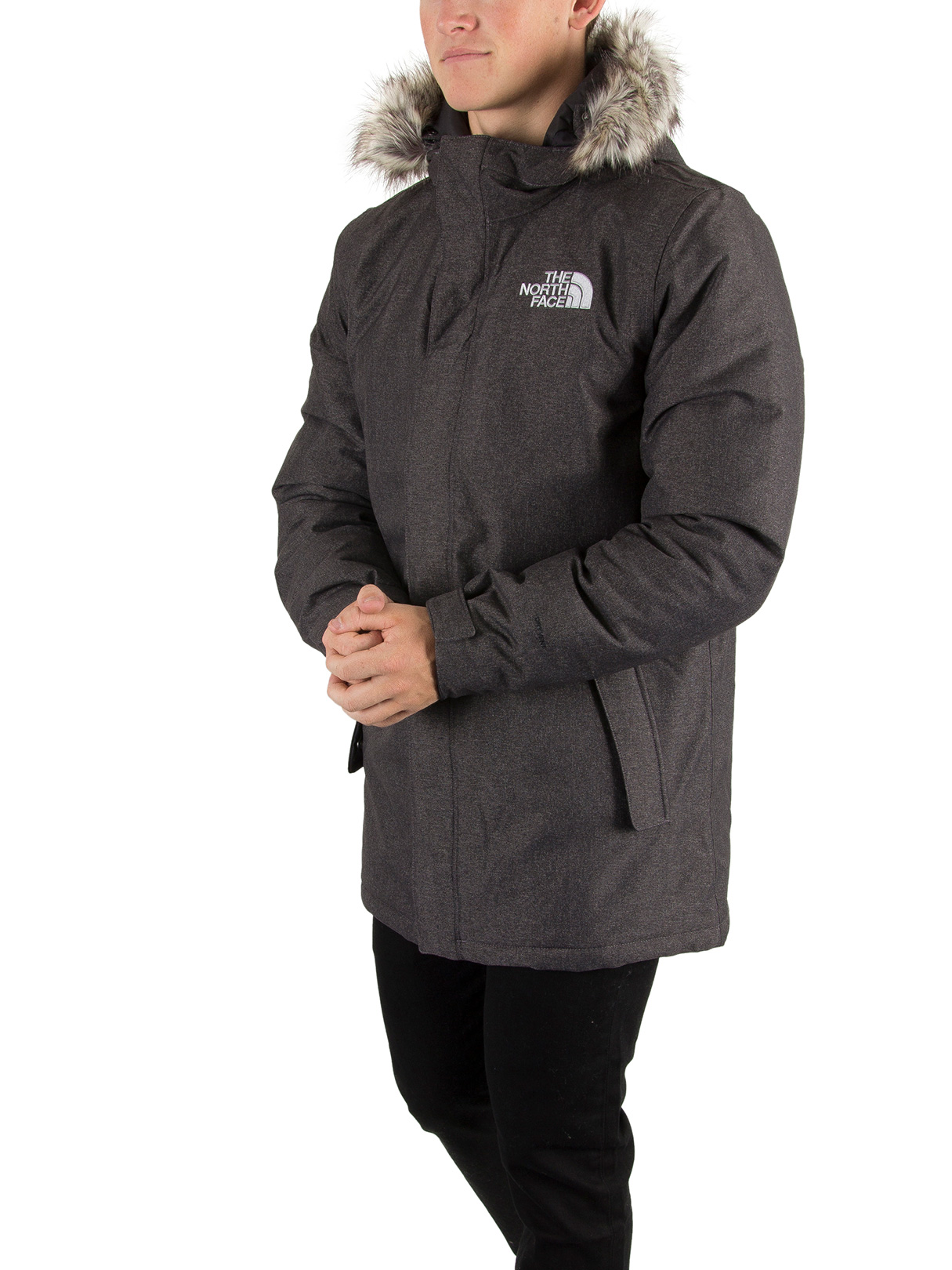 Parka the north face homme gris