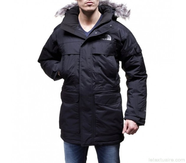Parka homme north face mcmurdo