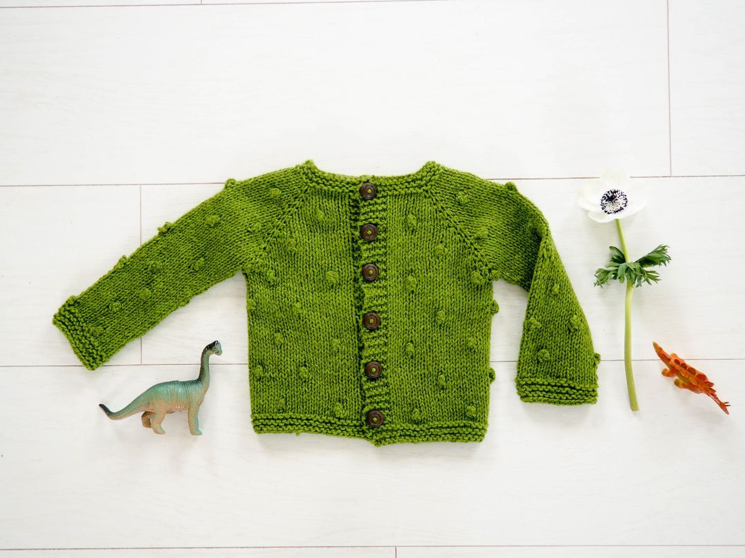 Tricot facile noppes