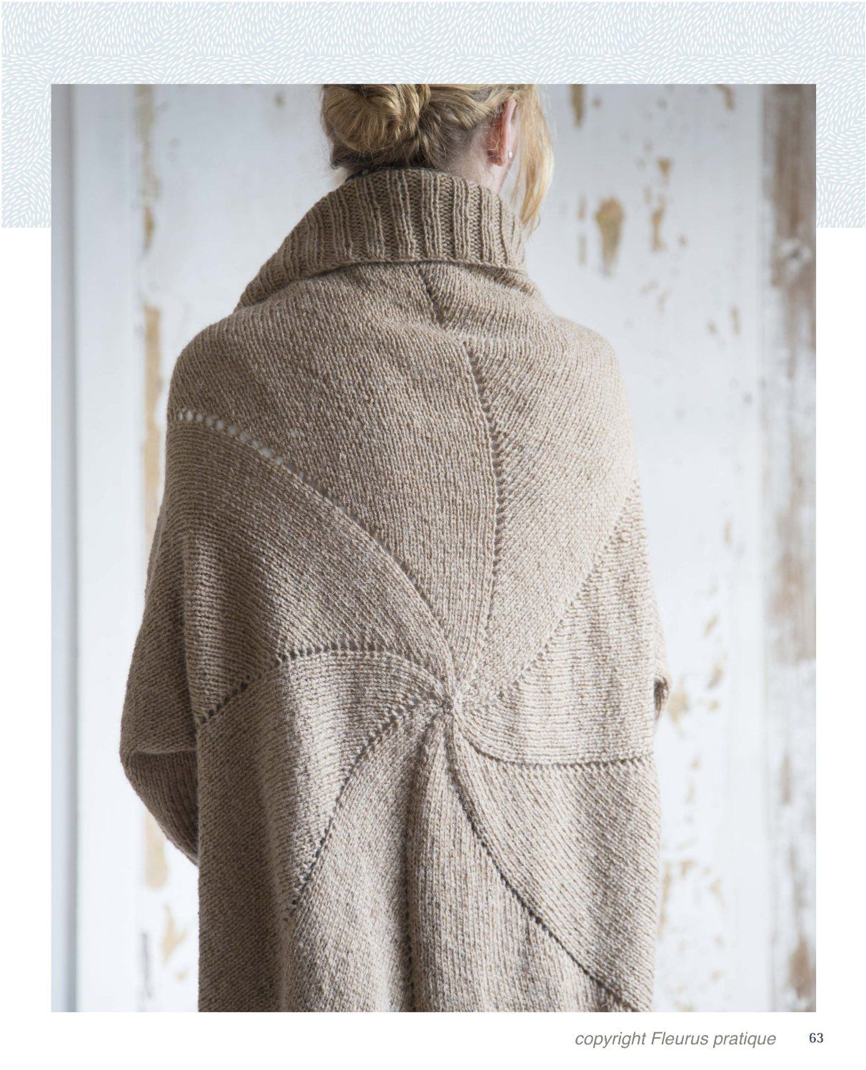 Modele pull tricot aiguille circulaire