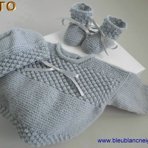 Tricot brassiere 1 mois