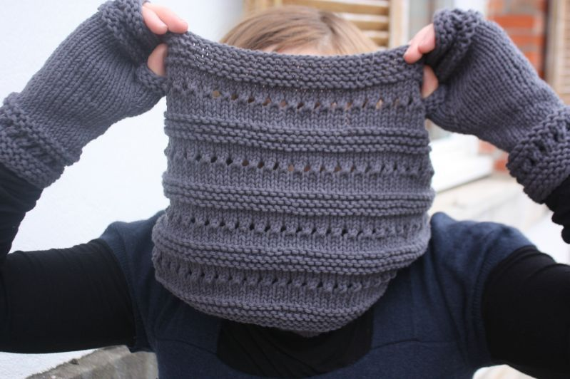 Point tricot aiguille circulaire
