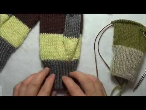 Tricot mitaine aiguille circulaire