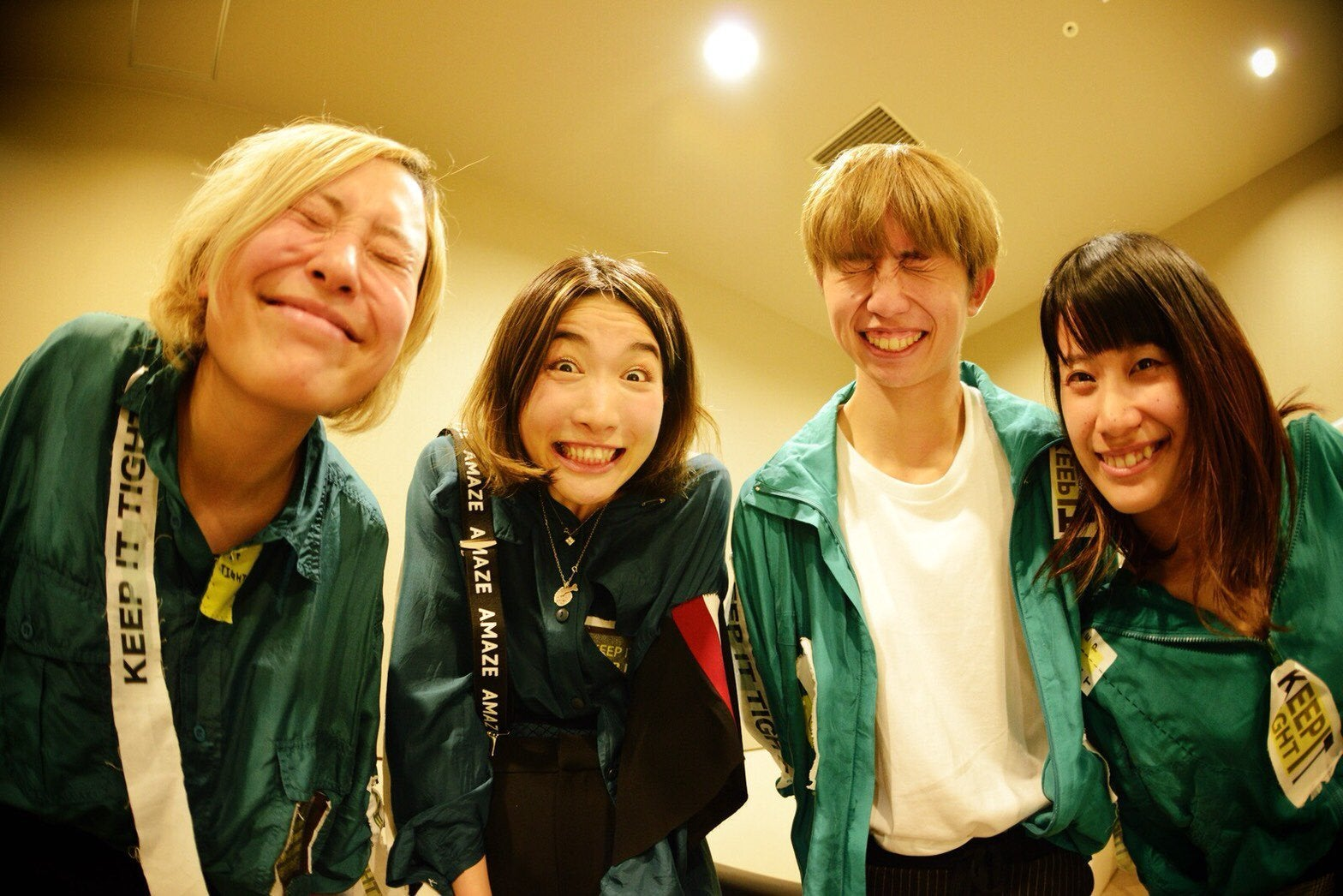 Tricot band members age