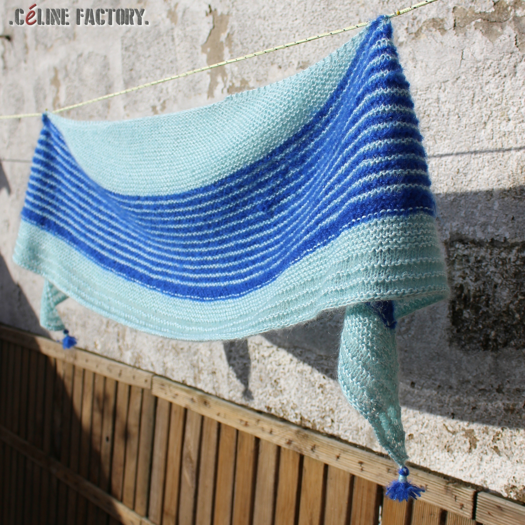 Tuto tricot chale rectangle