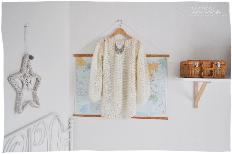Tricot pull doudou