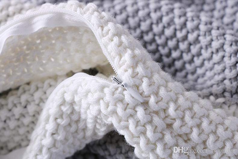 Tricot motif coquille